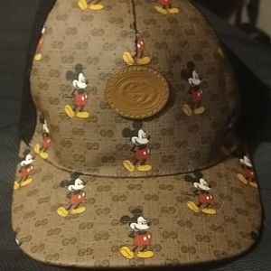 Gucci Mickey Mouse Hat